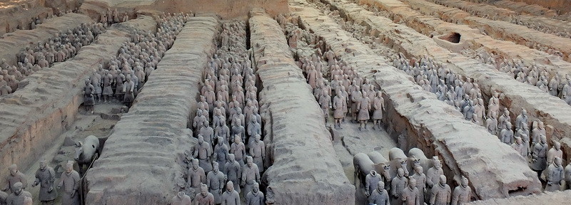 Het terracottaleger in Xi'an