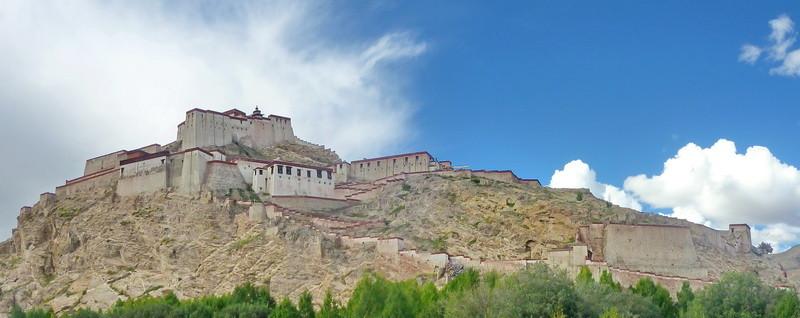 Gyantsen Dzong (Dzong = burcht)