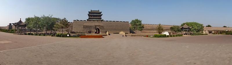 De stadsmuur van Pingyao