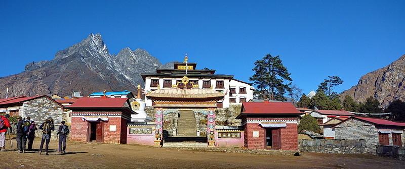 Het klooster van Tengboche