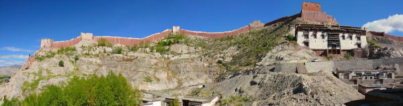Het Pelkor Chode klooster in Gyantse