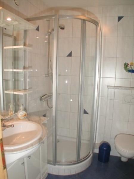 Duschbad von Ferienhaus Knöpfle Haus 118