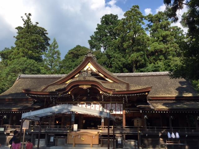 日本最初の神社で綺麗な御神殿です。(三輪大社)