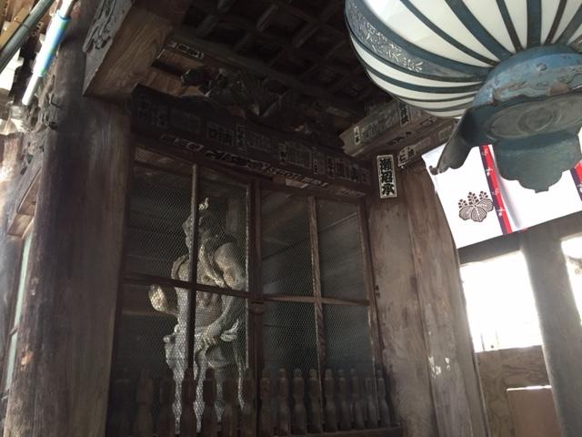 次のPower Spot の長谷寺(通称 お花(牡丹))の仁王門