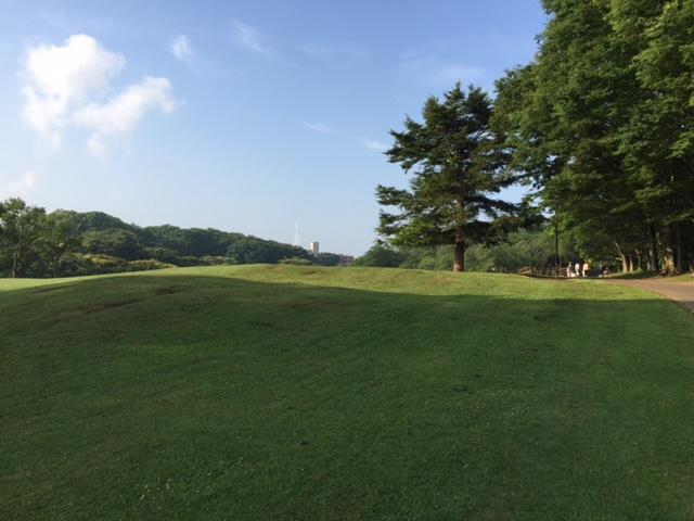 戦後はゴルフ場に利用されていたようです。