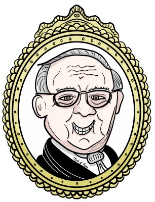 Warren Buffet zu Gold