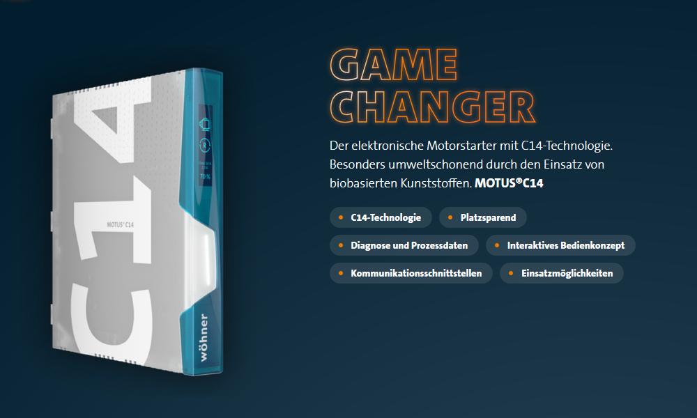 Wöhner MOTUS C14 - Neue Technik - Neue Welten