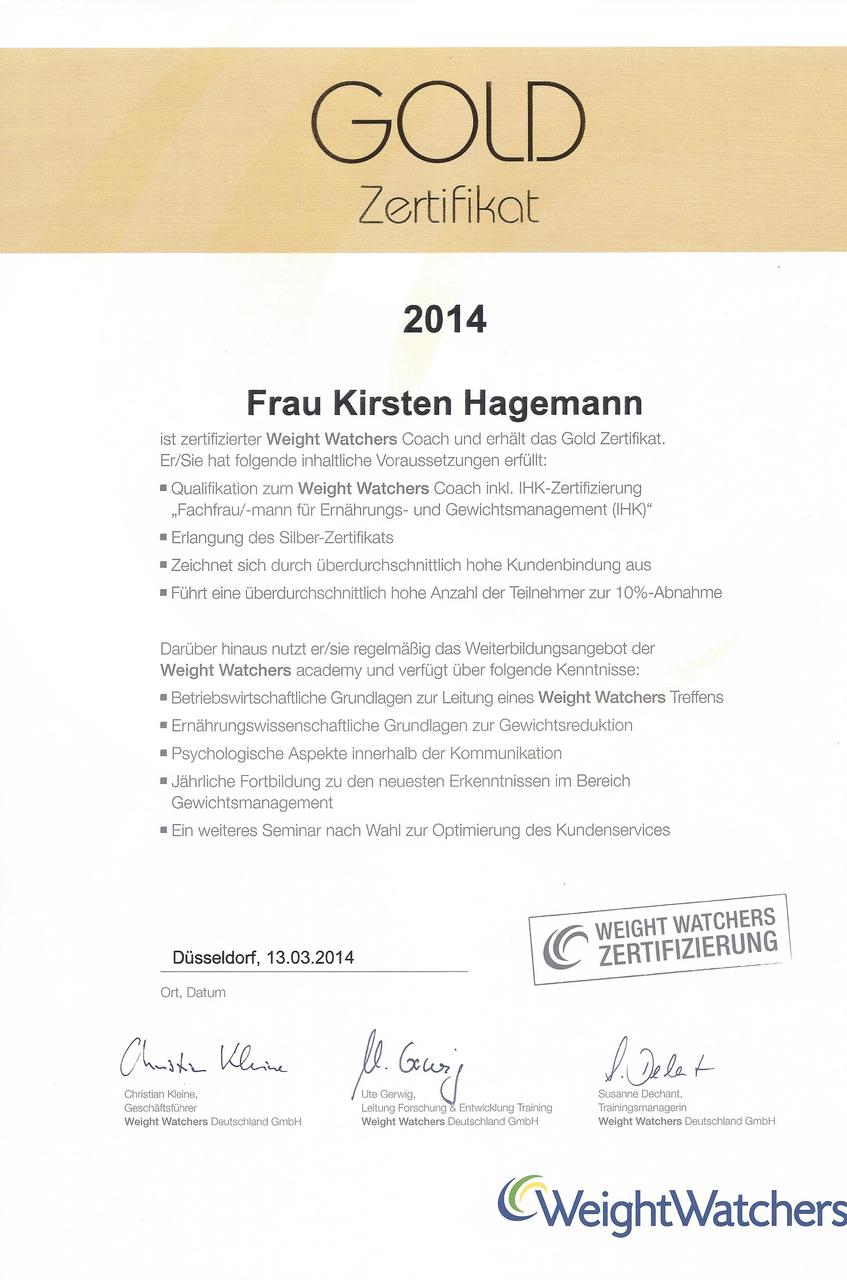 Zertifikate Abnehmen Hagemanns Webseite