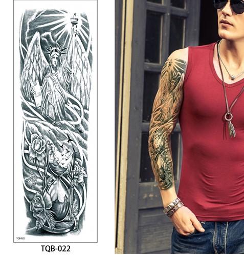 Tatouages Bras Entier 17x48cm Tattoo Du Monde Fr Tatouages