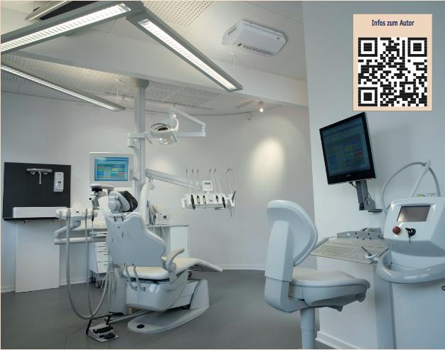 Zahnarztpraxis mit Schutznebelsystem