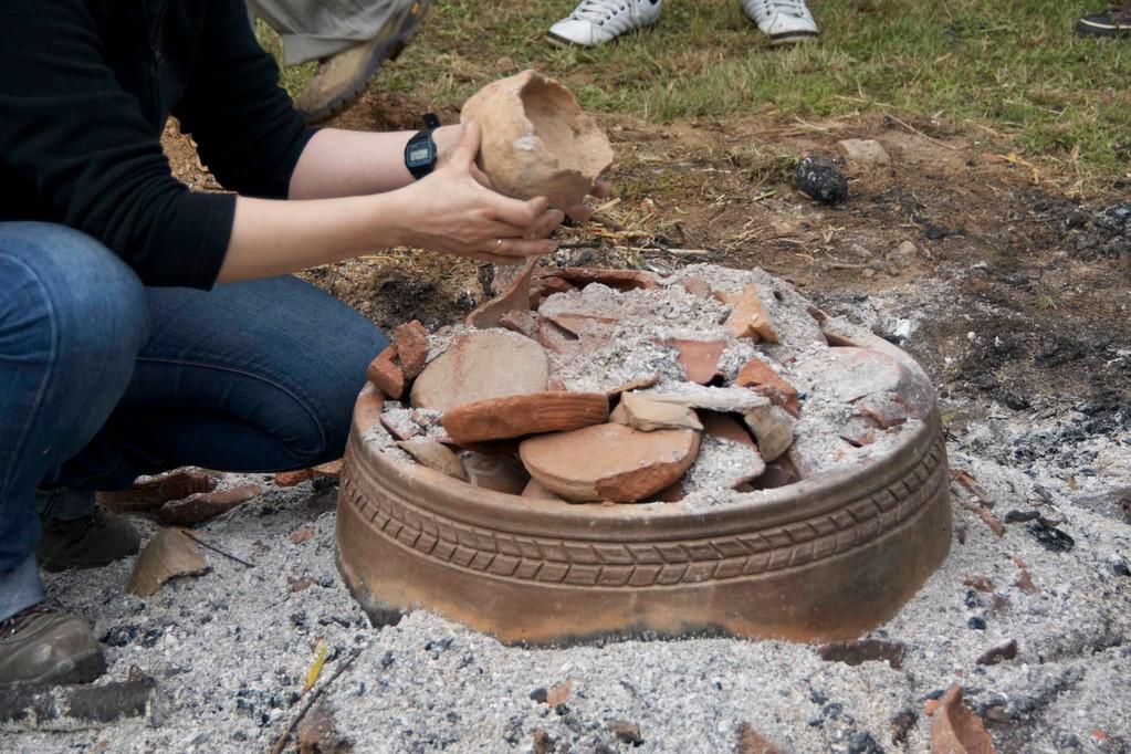 Cocción experimental de cerámica