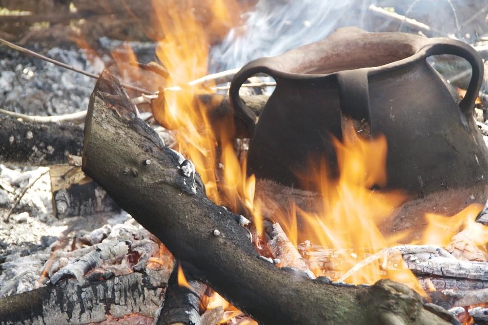 Eliminación del tanino: cocción