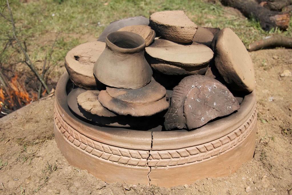 Cociendo la cerámica