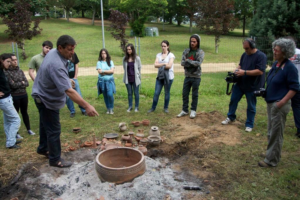Explicación del funcionamiento del horno