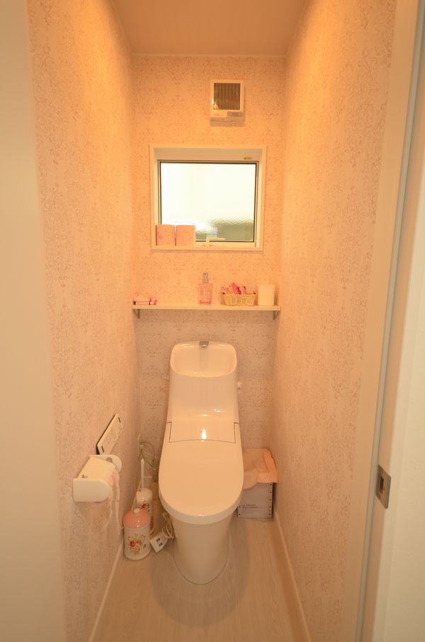 写真:サロンのトイレ