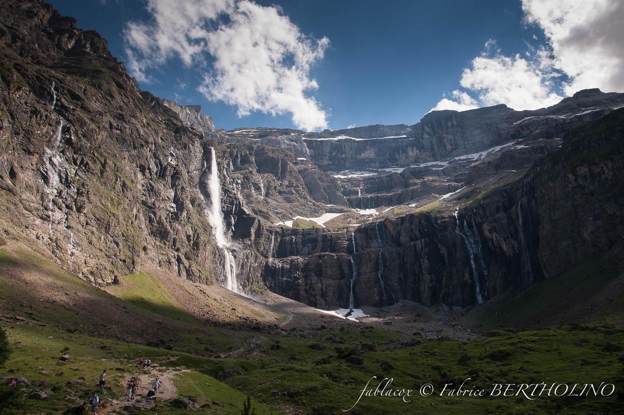 Le Cirque de Gavarnie et sa cascade de 423m (65 - 2013/08)