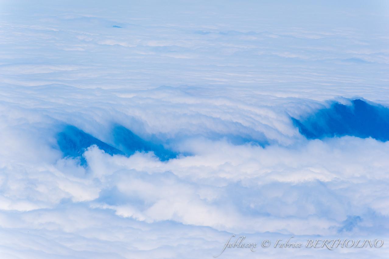 Une mer de nuage vue depuis le Pic du Midi (65 - 2013/08)