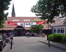 Start- und Zielbereich bei der RTF in Goldenstedt