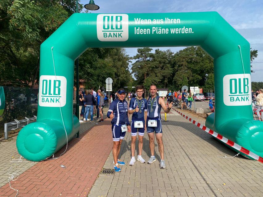 Frank Stephani, Jonas und Arne Dunker