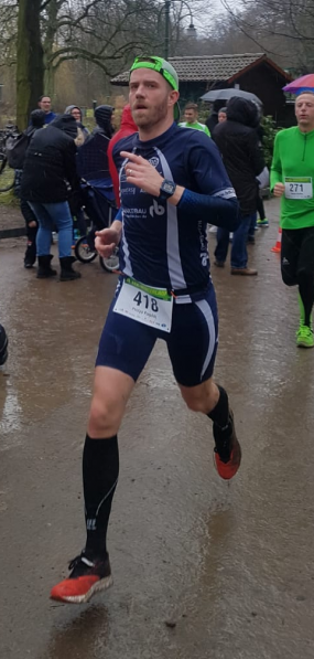 Philipp Pospich lief vorn in der Gesamtwertung mit.