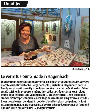 L'Alsace du 16/10/2016