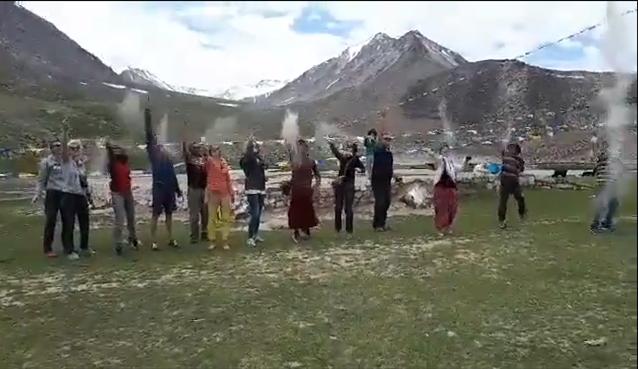 Jyoti-yogi au Ladakh, Vallée de la Nubra, séjour 2017