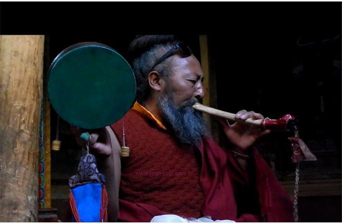 Yogi Dawa, yoga, bénédiction, Leh, Ladakh, spiritualité