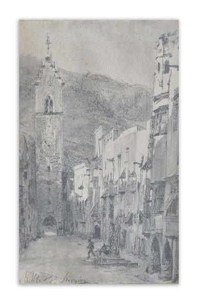 Adolph von Menzel (1815 - 1905) Limit: 2.500 € | Zuschlag: 20.000 €