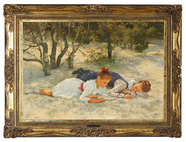 Ernst Seeger (1868 - 1939) Limit: 1.500 € |Zuschlag 11.250 €