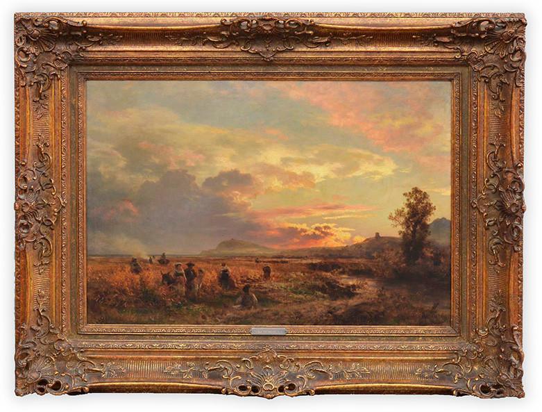 Oswald Achenbach (1827 - 1905) Limit: 4.000 € | Zuschlag: 16.250 €