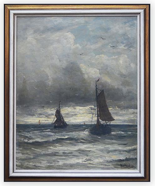Hendrik Willem Mesdag (1831 - 1915) Limit: 18.000 € | Zuschlag: 53.750 €