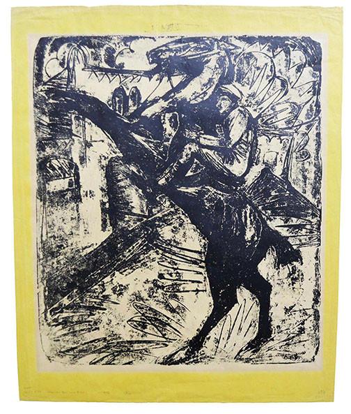 Ernst Ludwig Kirchner (1880 - 1938) Limit: 15.000 € | Zuschlag: 46.250 €