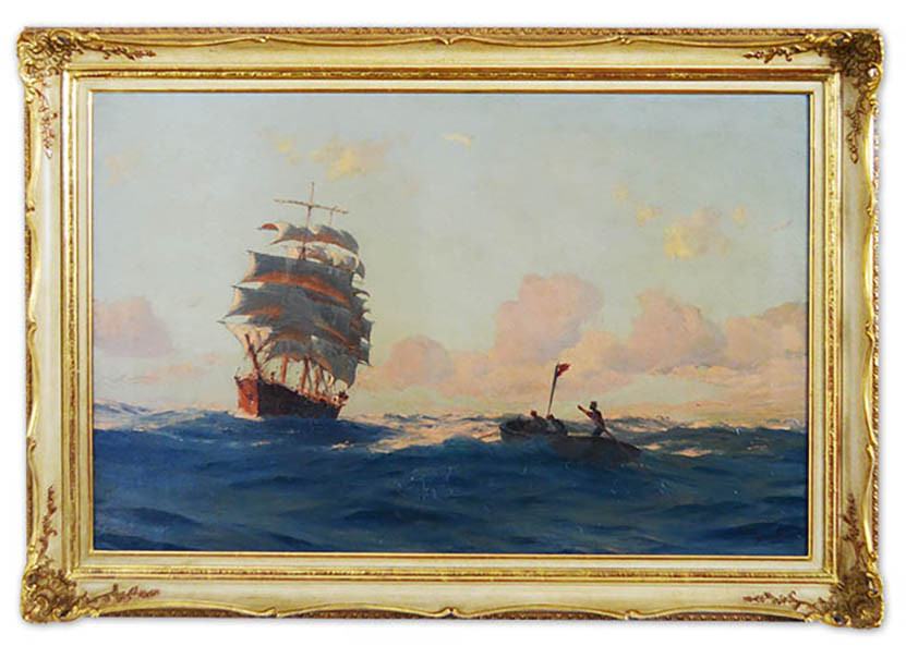 T. J. Somerscales (1842 - 1927) Limit: 2.800 € | Zuschlag: 52.500 €