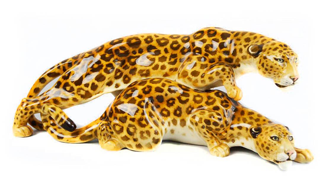 Leoparden - Hutschenreuther Limit: 200 € | Zuschlag: 680 €