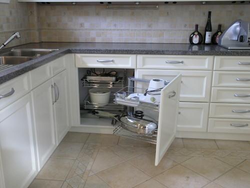 Küche weiß Schreiner Landhaus