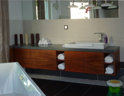 Badezimmer indischer Apfel Schreiner Waschtisch