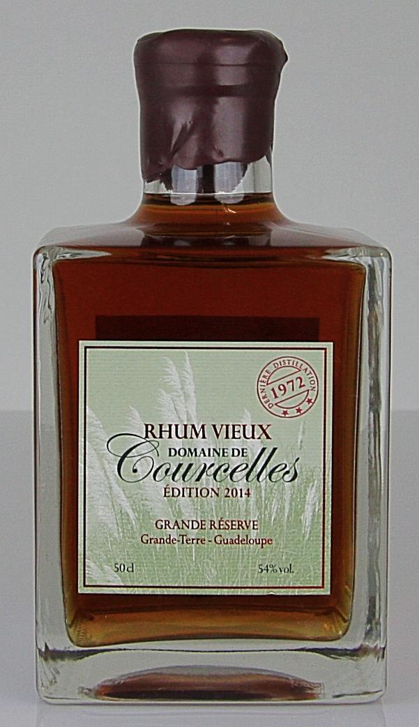 21e464ac6592e Domaine de Courcelles Rhum Vieux 1972 Brut de fut (Edition 2014)