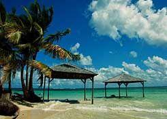 ilet sable cocotier