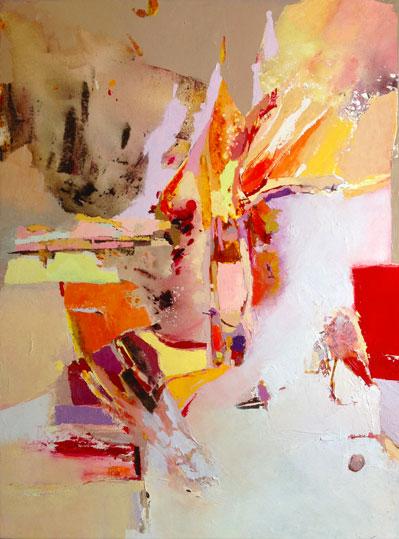 Feérie,  toile de 60x80cm, huile, 2010
