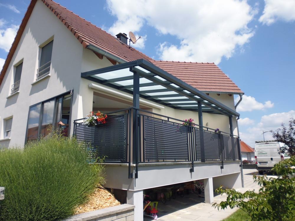 Erweiterungsmöglichkeit - Dachüberstand