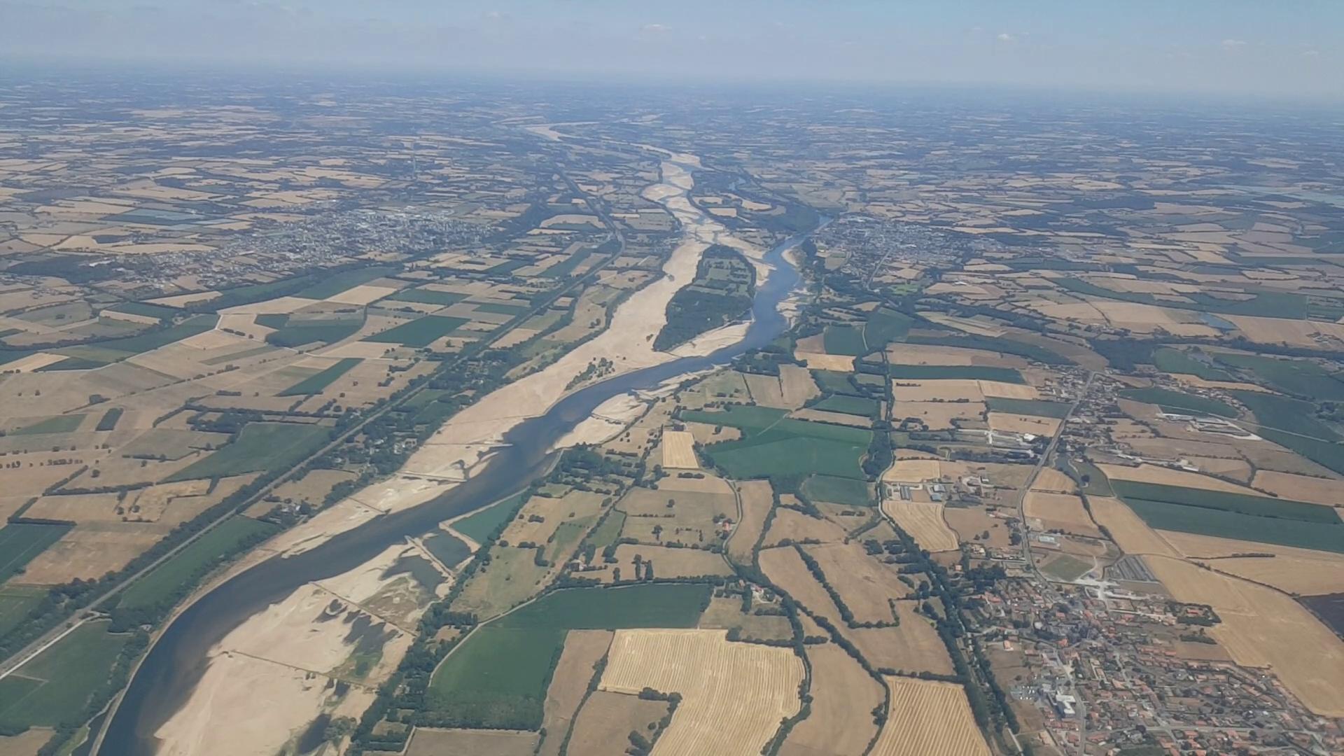 La Loire à l'étiage