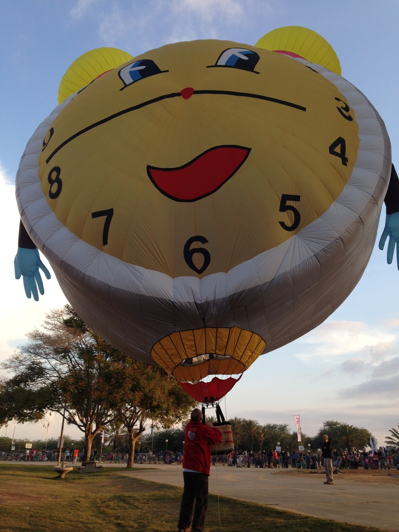 ALARM-CLOCK der Modellballon-Sportgruppe-Rosenfeld