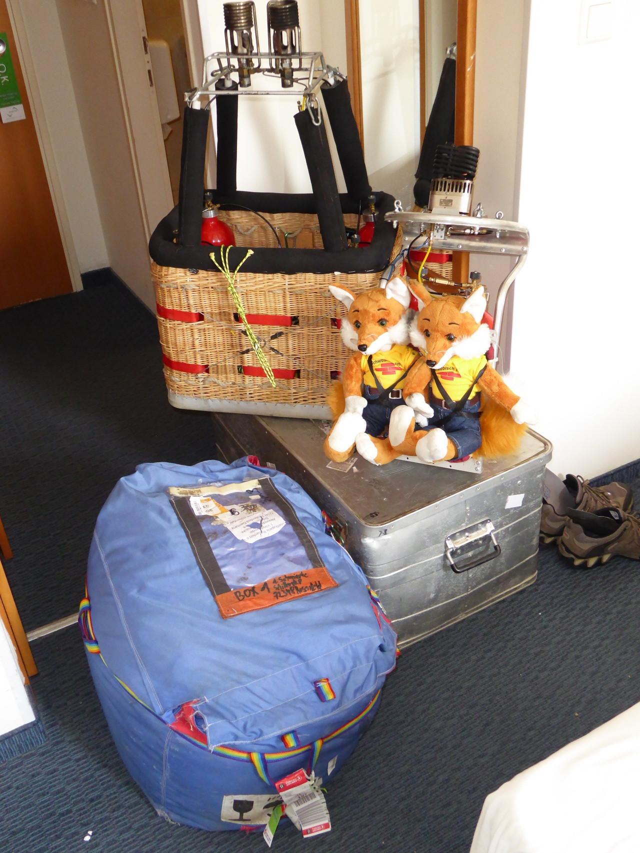 Das Reiseequipment