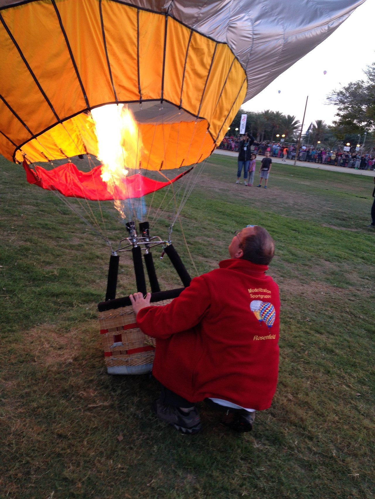 Andi und seine ALARM-CLOCK der Modellballon-Sportgruppe-Rosenfeld