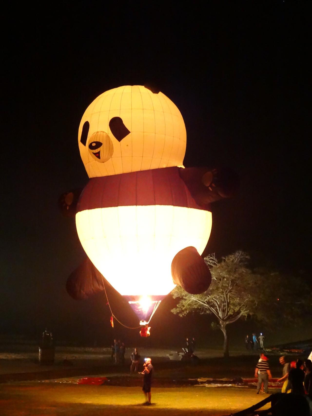PANDA der Modellballon-Sportgruppe-Rosenfeld