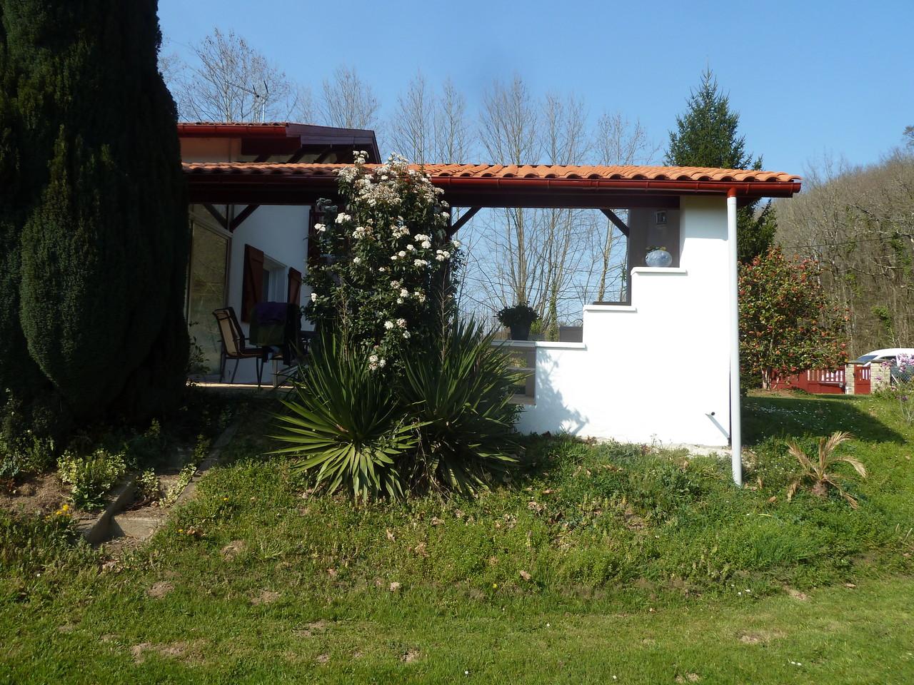 AVANT : Aménagement bord de terrasse