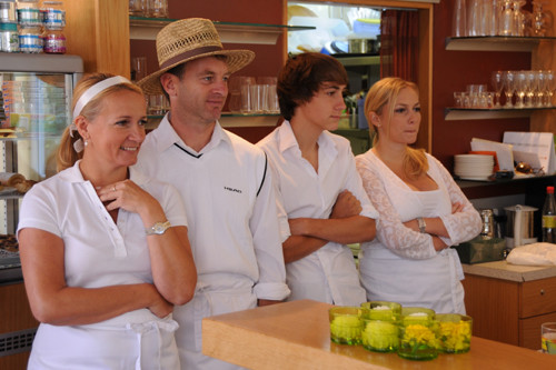 Sybille, Herbert, Fabio & Anna