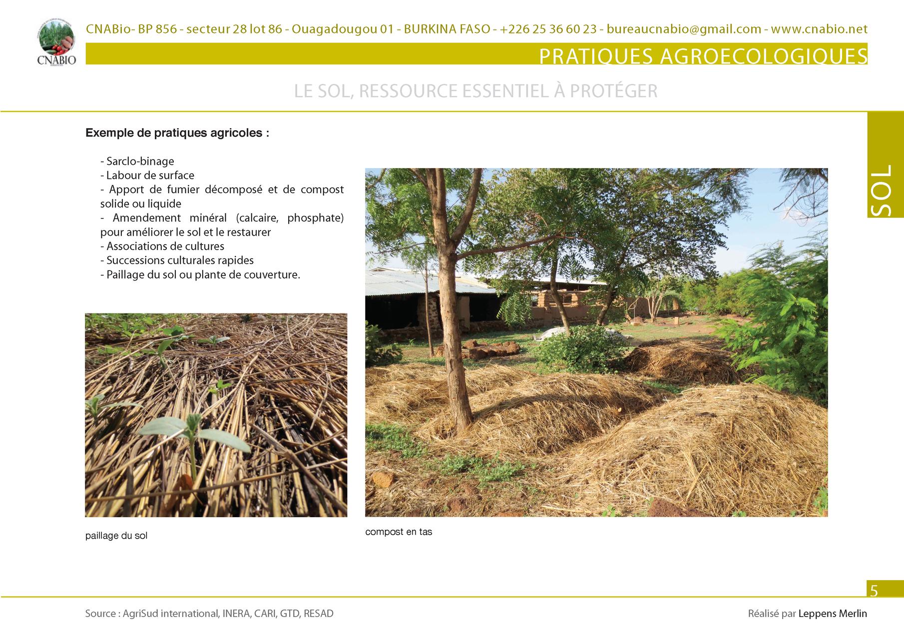 Les Pratiques Agroecologiques Site Du Cnabio