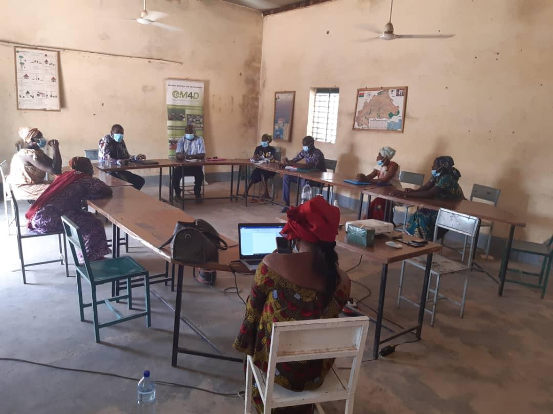 Mission de recyclage des Contrôleurs internes dans la zone Ouest du Burkina (Gouèra, Sindou) par l'équipe OM4D