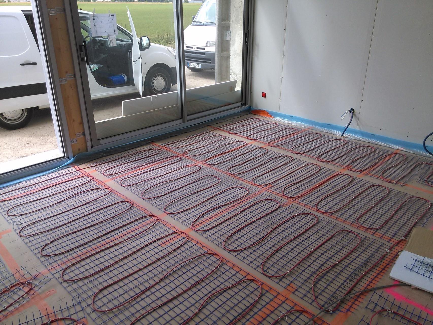 Chauffage ventilation lectricit g n rale guinehut - Consommation plancher chauffant electrique ...